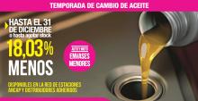 Promoción Lubricantes CHEVRON-TEXACO